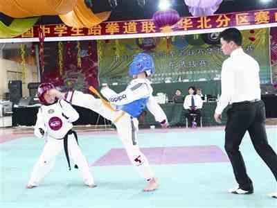 中国中学生跆拳道
