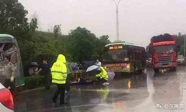 江西鹰潭龙虎山发生一起公交车货车相撞事故,致10死38伤