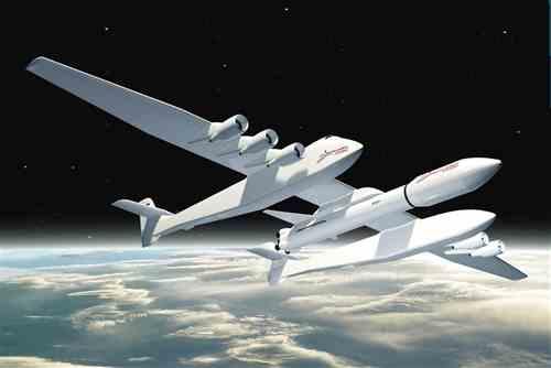 双机身 射火箭 全球最大飞机下线