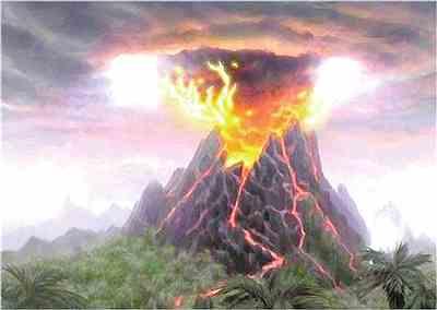 火山爆发开启恐龙时代的黎明