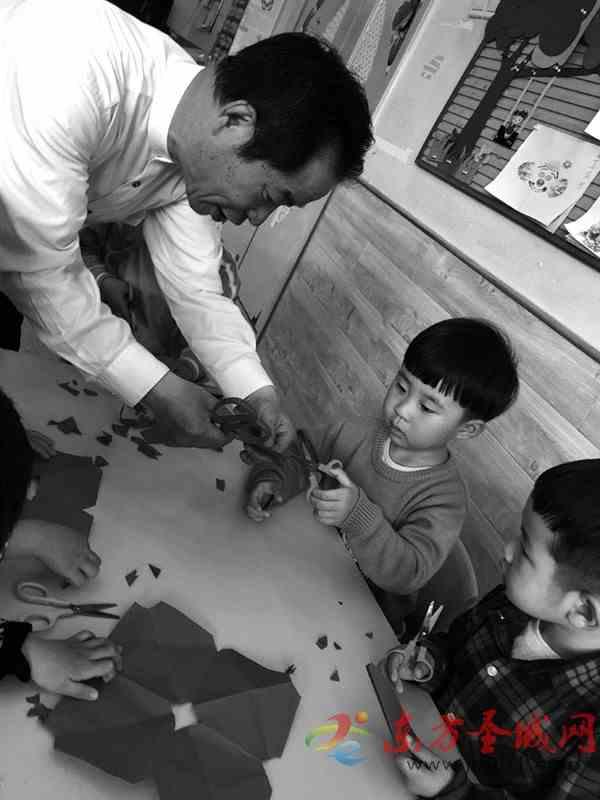 非遗项目走进幼儿园 传承传授传统技艺