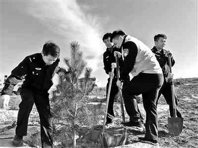 警民共建 绿色家园