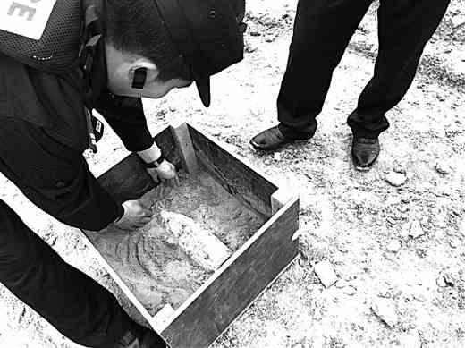 工地挖出炮弹 民警将其转移 民警推测,炮弹极有可能是抗战时期的遗留物agp接口的显卡