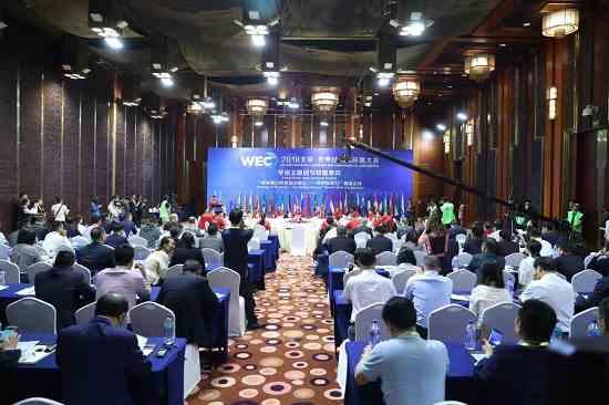 最幕集团承办世界经济与环保大会 李强呼吁文化产业关注环保